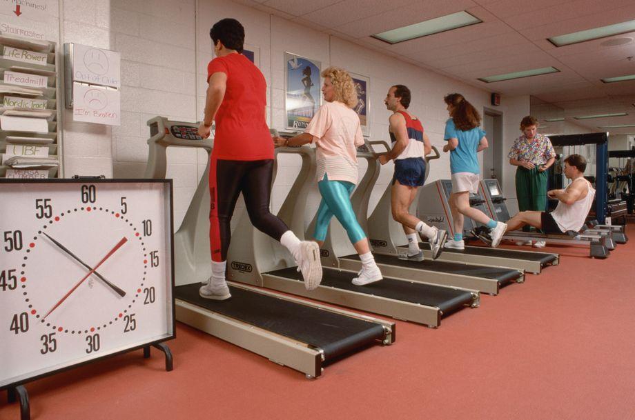 Heimtrainerzeit Gewicht verlieren