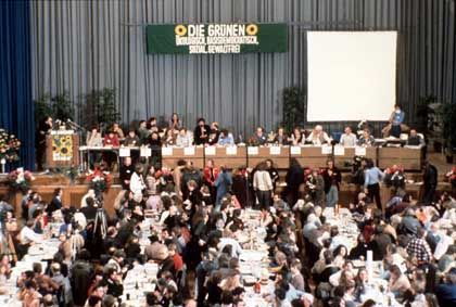 Germany's Greens have come a long way since this day, Jan. 13, 1989, when they were founded.