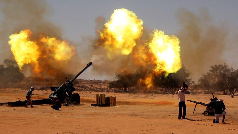 Libyen: Kampf um Sirt und Bani Walid