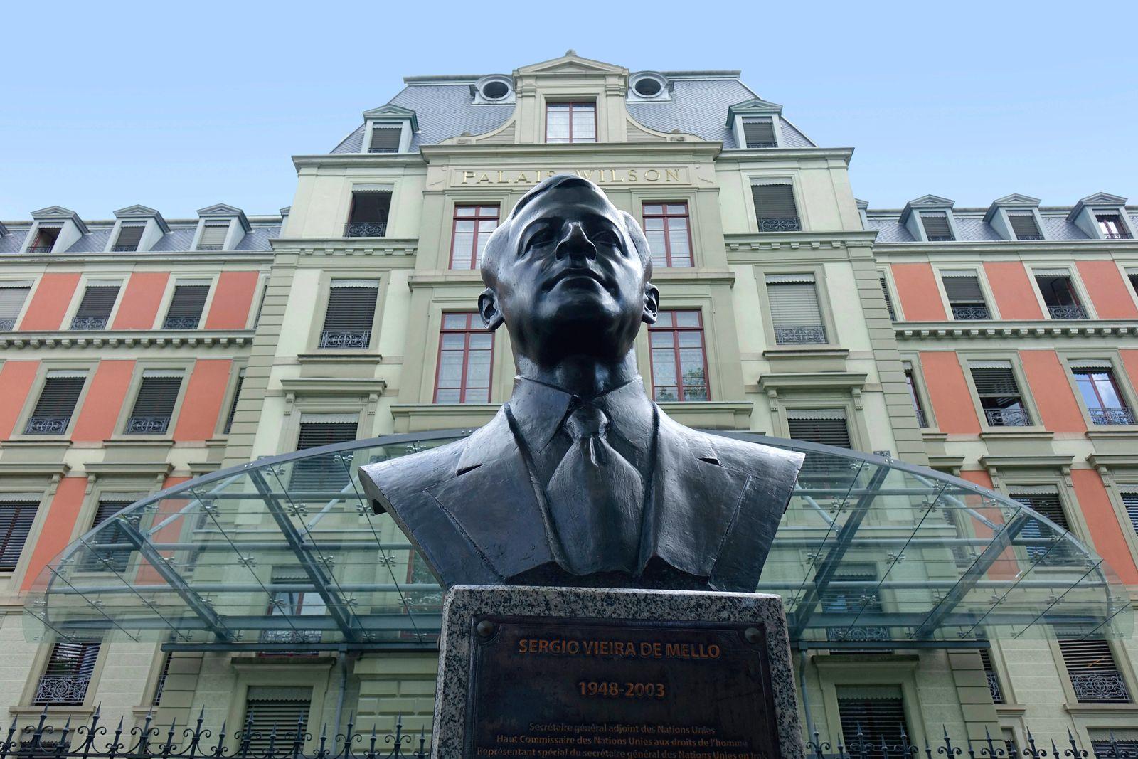 Palais Wilson Palais Wilson, 02.08.2019, Genf, Quai Wilson, Schweiz, Im Palais Wilson wird das Amt des Hohen Kommissars