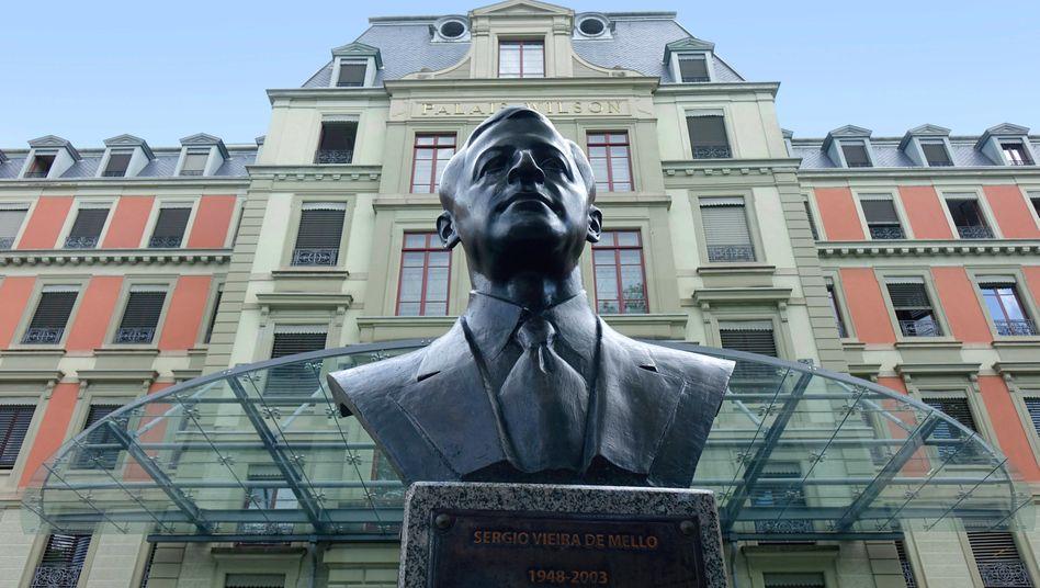 Palais Wilson in Genf: Sitz des Amtes des Hohen Kommissars der Vereinten Nationen für Menschenrechte