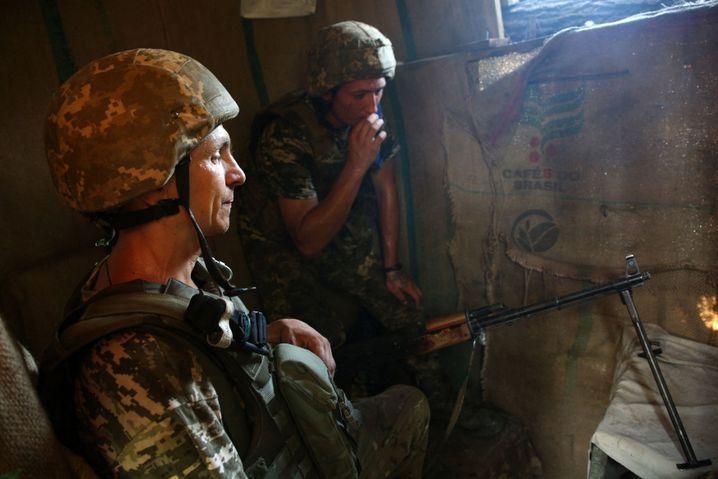 In der Ostukraine herrscht – von der Welt weitgehend vergessen – noch immer Krieg
