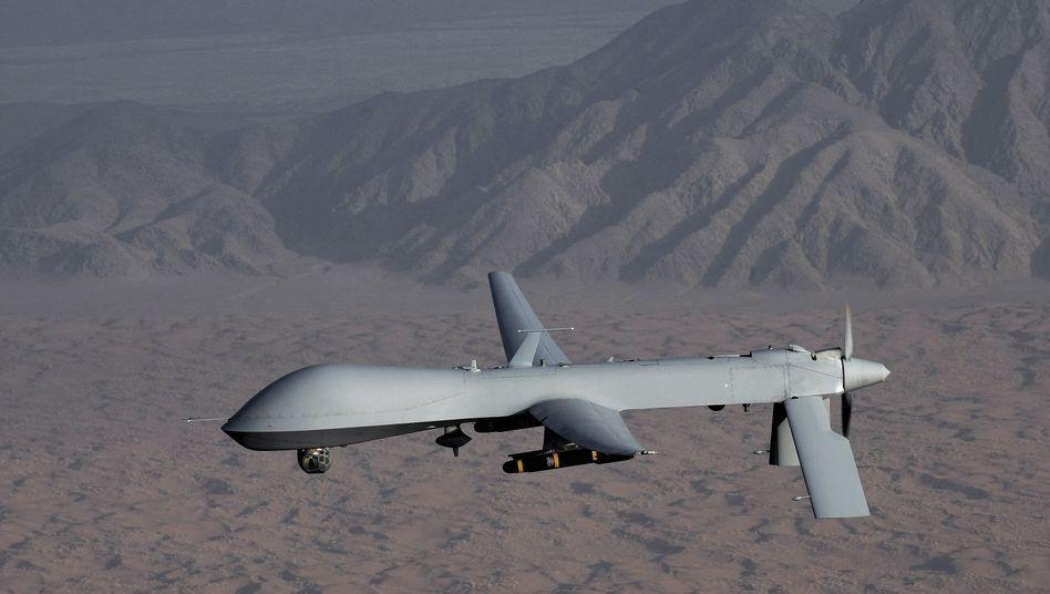 """""""Predator""""-Drohne der USA (undatiertes Archivbild): Umstrittene Luftangriffe"""