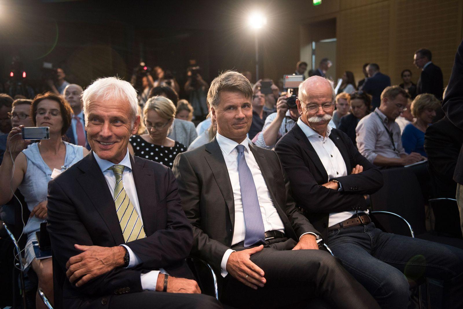 Matthias Mueller / Harald Krueger / Dieter Zetsche
