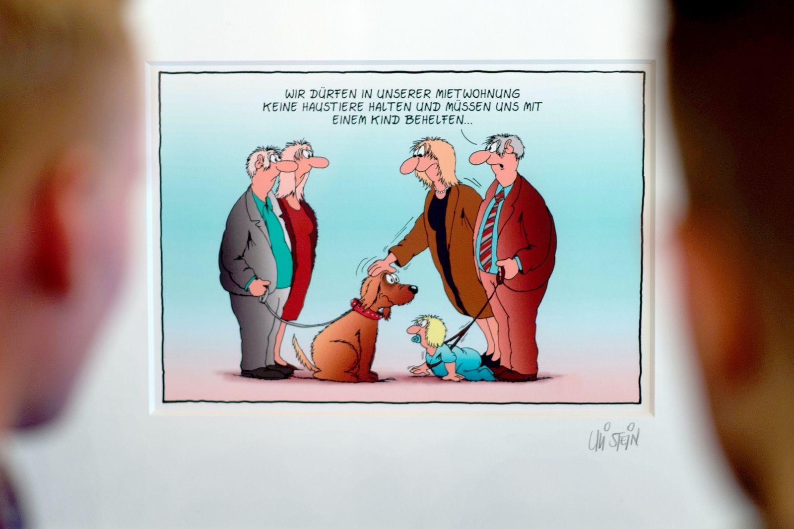 Cartoonist Uli Stein wird 70