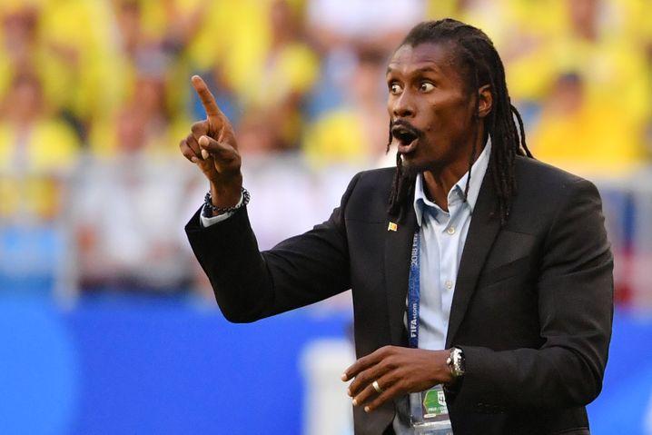 Senegal-Trainer Aliou Cissé