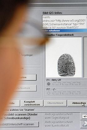 Verstärkter Datenaustausch: Fingerabdrücke und DNA-Profile