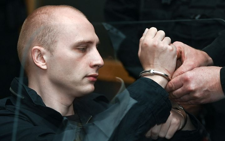 Angeklagter Stephan Balliet