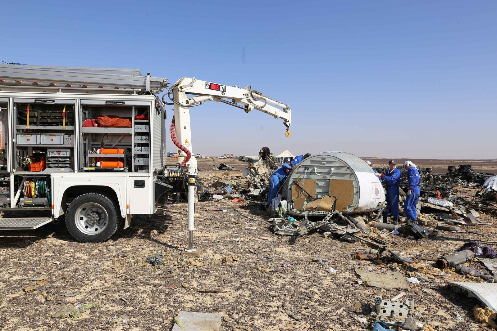 Egypten/ Flugzeugabsturz
