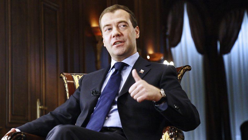 Russlands Präsident Medwedew: Nato-Annäherung trifft auf Widerstand von Moskaus Falken
