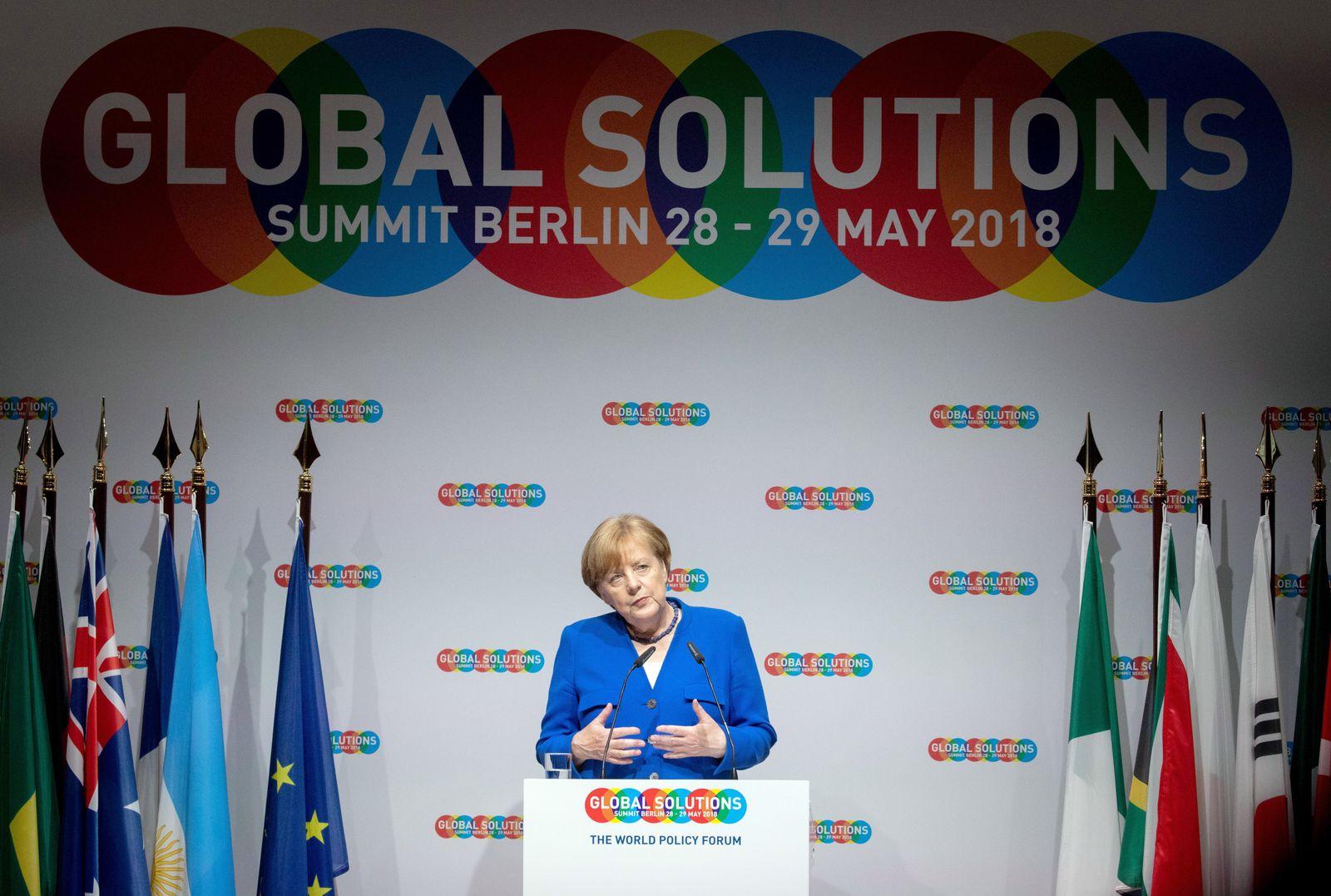 Angela Merkel / Global Solutions Summit