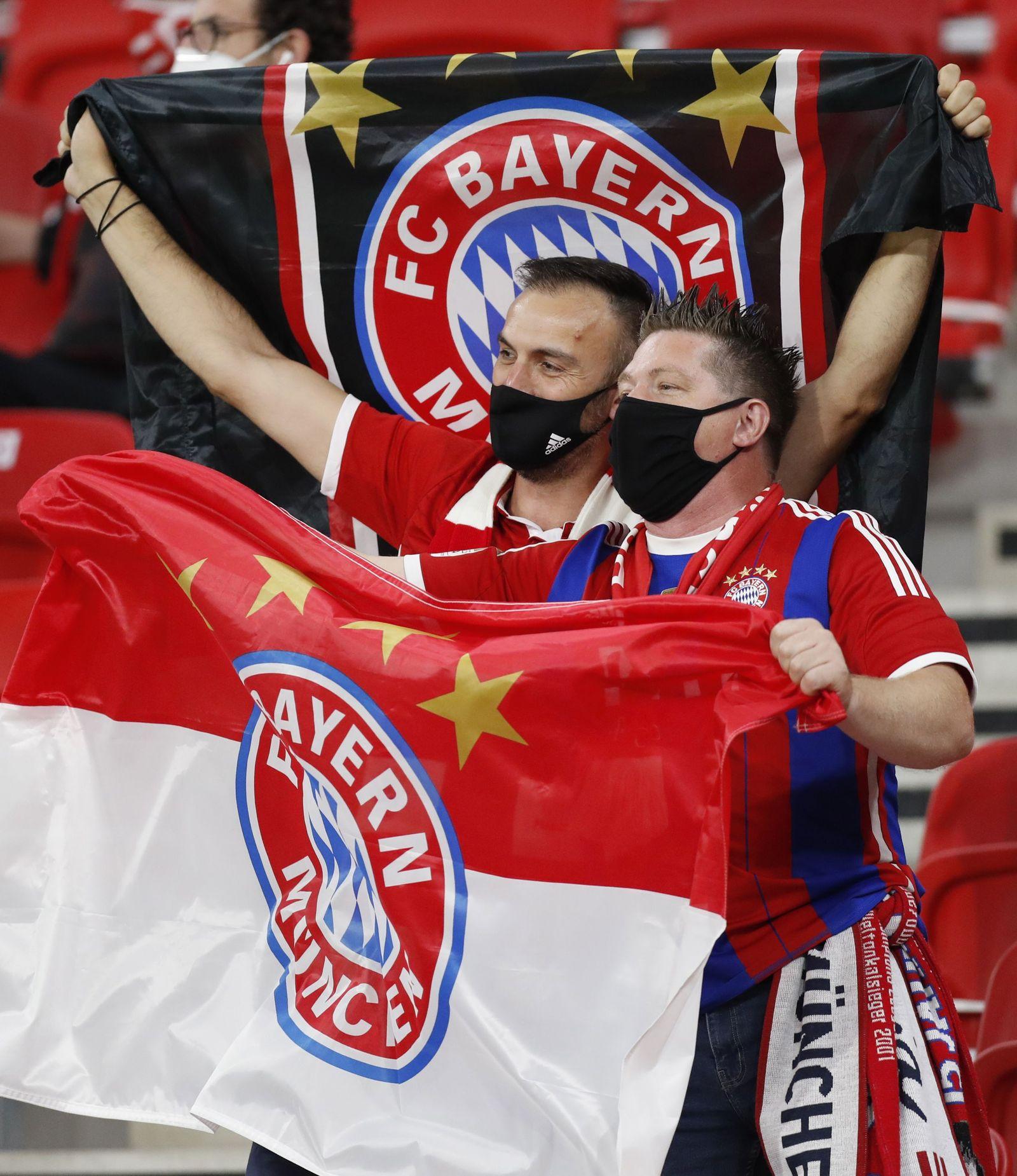 Bayern Munich vs Sevilla FC, Budapest, Hungary - 24 Sep 2020