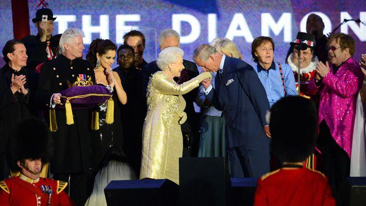 Jubiläumskonzert für die Queen: Pop-Adel und Top-Adel