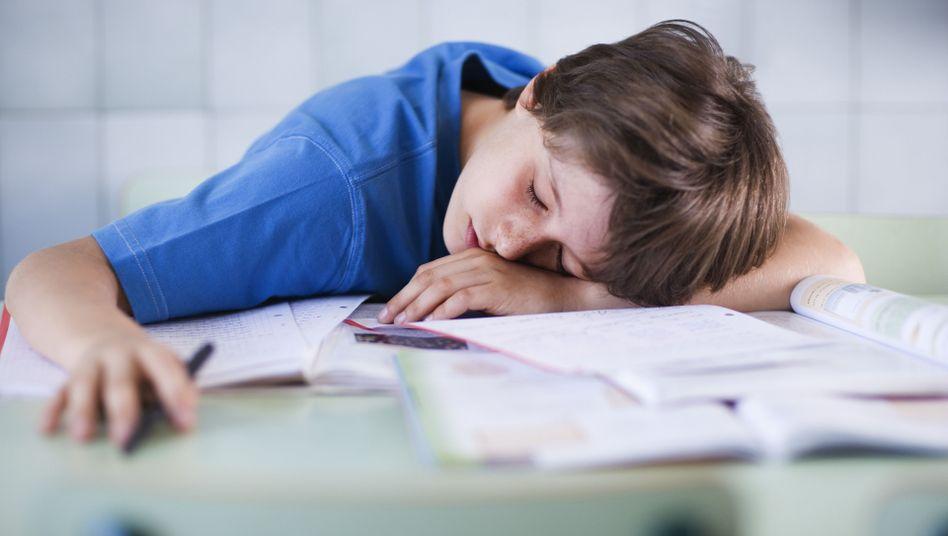 Schlafendes Kind: Narkolepsie lässt sich behandeln, ist aber nicht heilbar