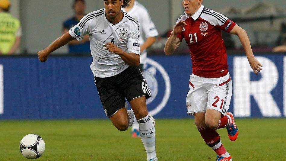 Nationalspieler Sami Khedira: Im Einsatz für den nächsten Griechen-Witz