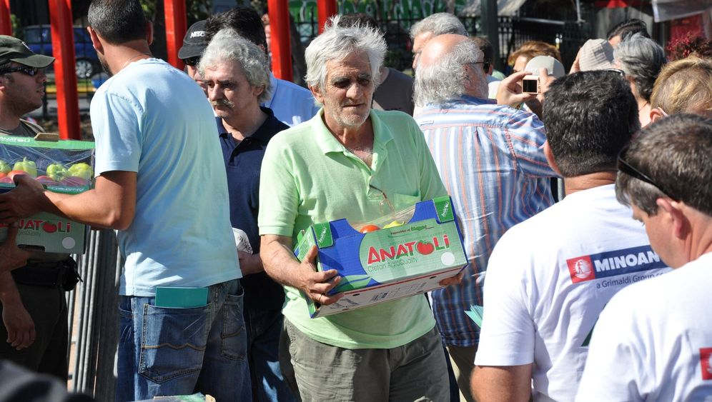 Trend in Griechenland: Patriotismus im Supermarkt