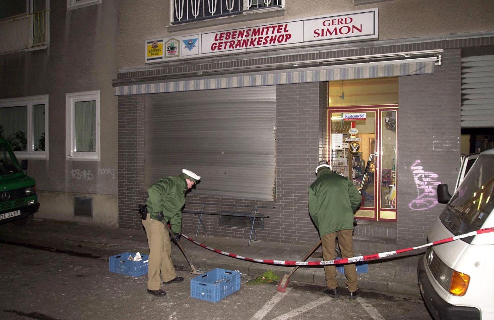 Untersuchungsausschuss NSU / Köln / Bombe / 2001