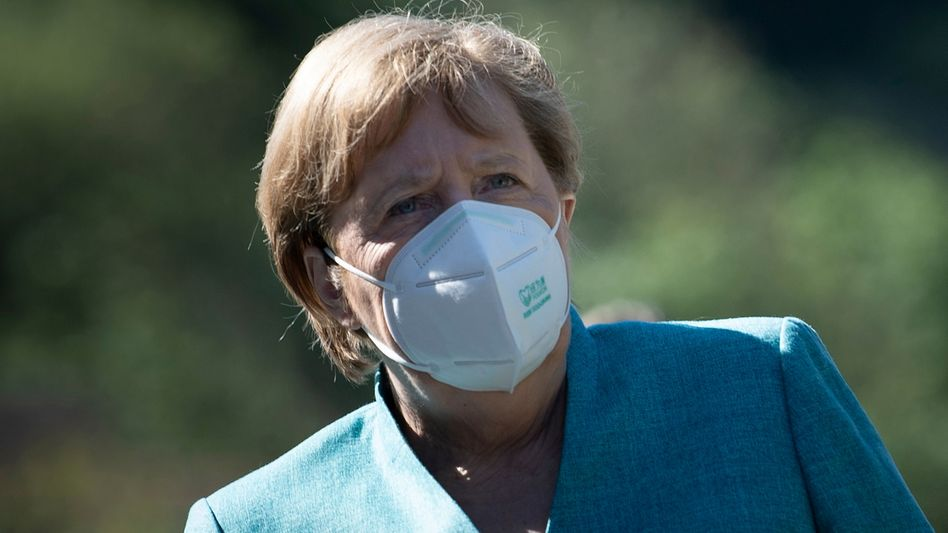 Kanzlerin Angela Merkel beim G7-Gipfel