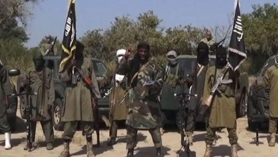 Boko-Haram-Terroristen (Archiv): Hochburgen im Norden Nigerias