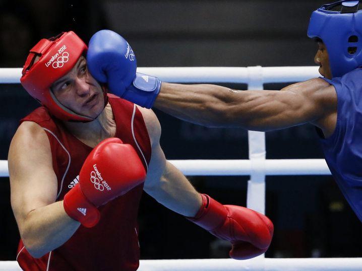Joshua auf dem Weg zum Olympiasieg 2012