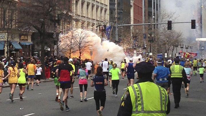 Boston-Marathon: Explosionen an der Ziellinie