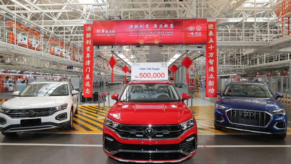 VW-Produktion in Tianjin: In der Falle