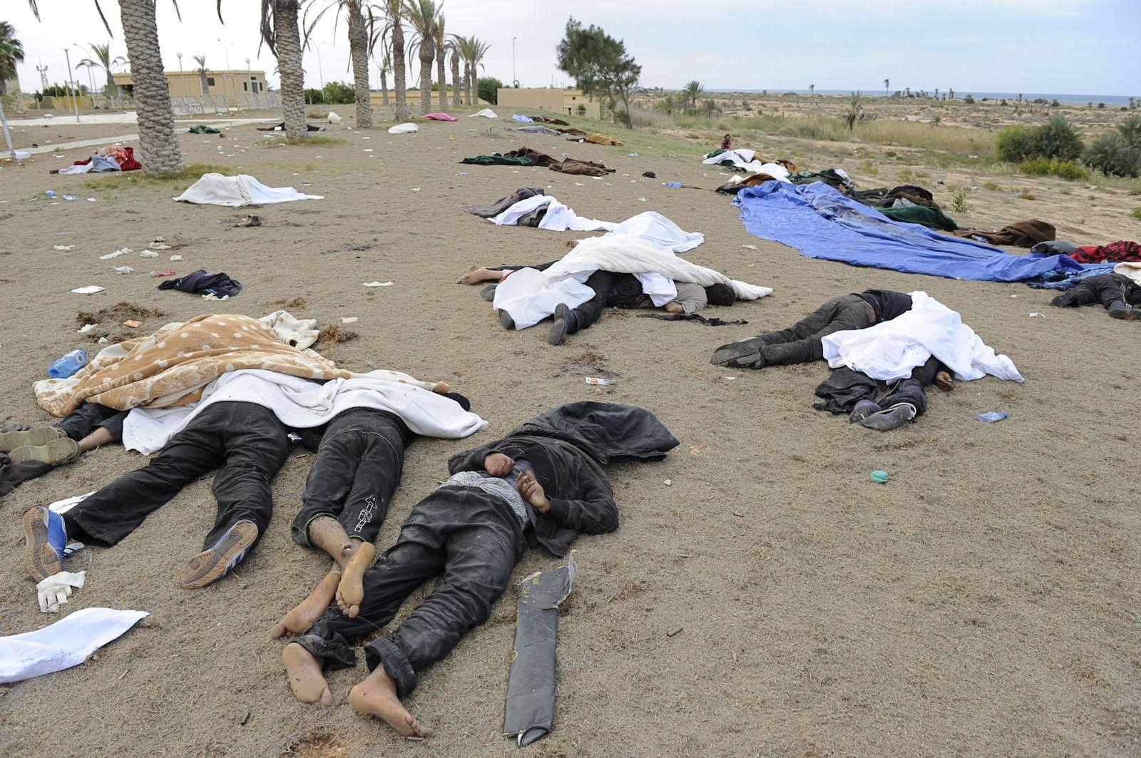 Libyen/ Massaker