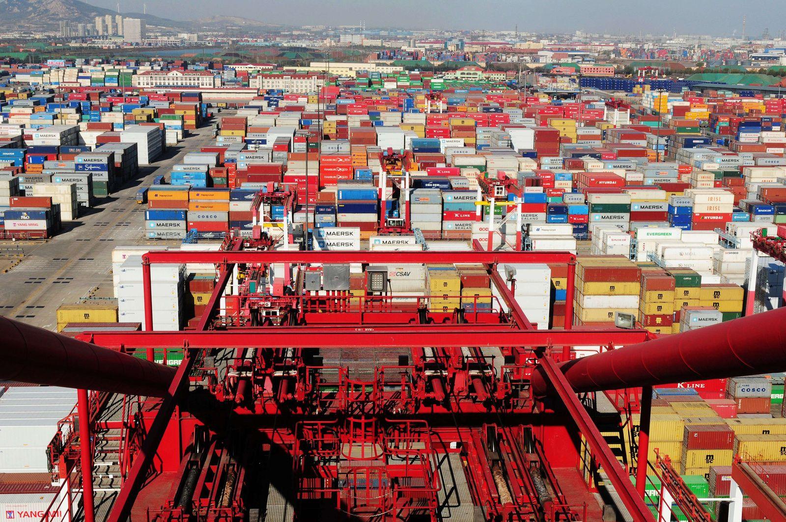 Hafen China Qingdao Export