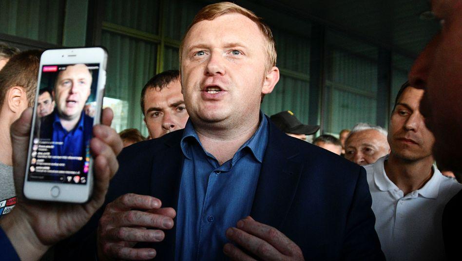 Kommunistischer Kandidat Ischenko
