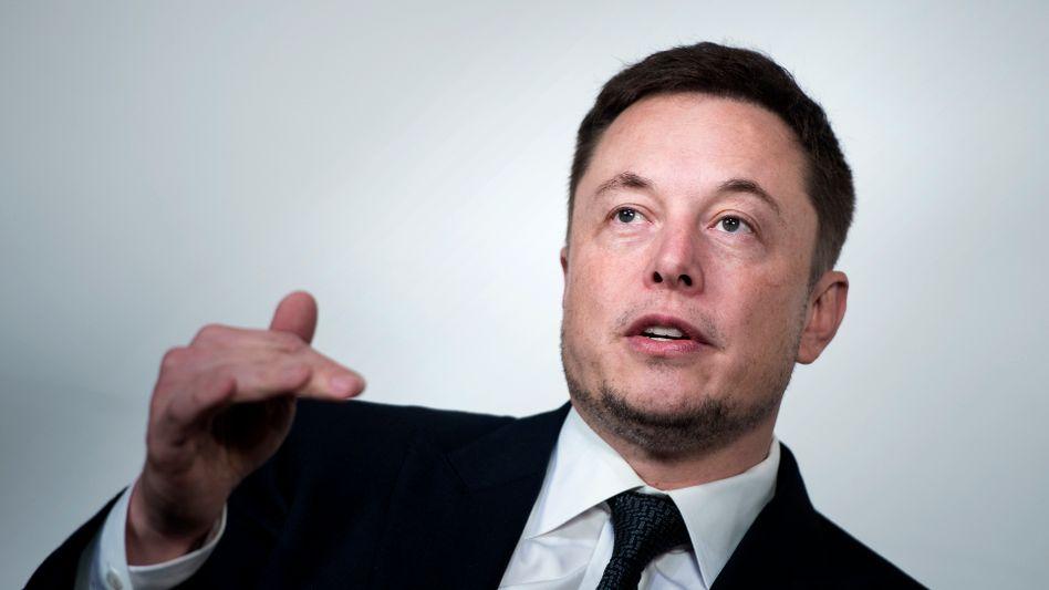 Tesla-Chef Elon Musk (Archivbild)
