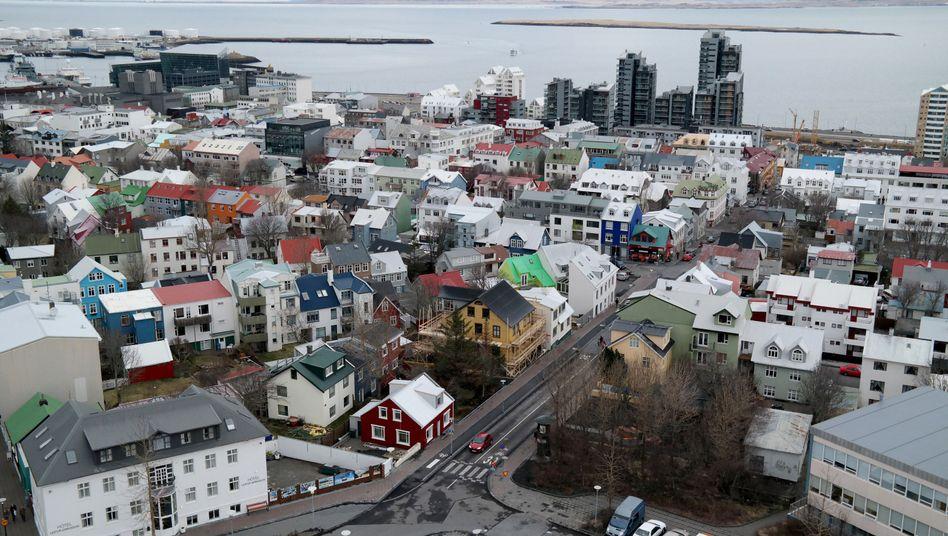 Isländische Hauptstadt Reykjavik