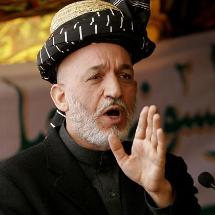 Afghan President Hamid Karzai: Once lauded as a torchbearer, now the scapegoat for the West's lack of success in Afghanistan