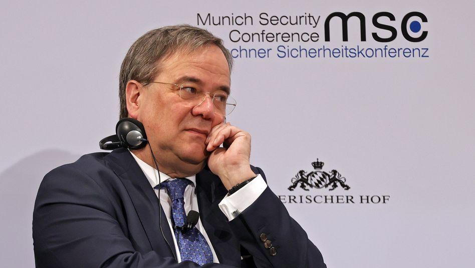 Armin Laschet bei der Münchner Sicherheitskonferenz