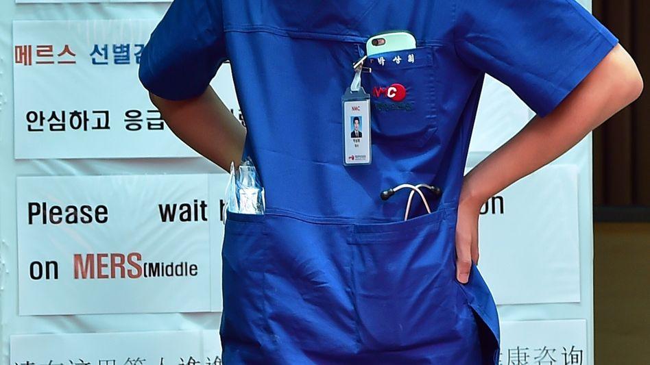 Mediziner an Mers-Notfallzentrum in Seoul: 680 Patienten werden beobachtet