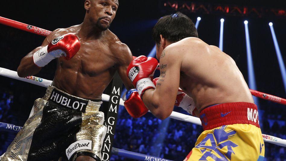 Boxer Pacquiao (r.): Philippinischem Superstar droht Strafe