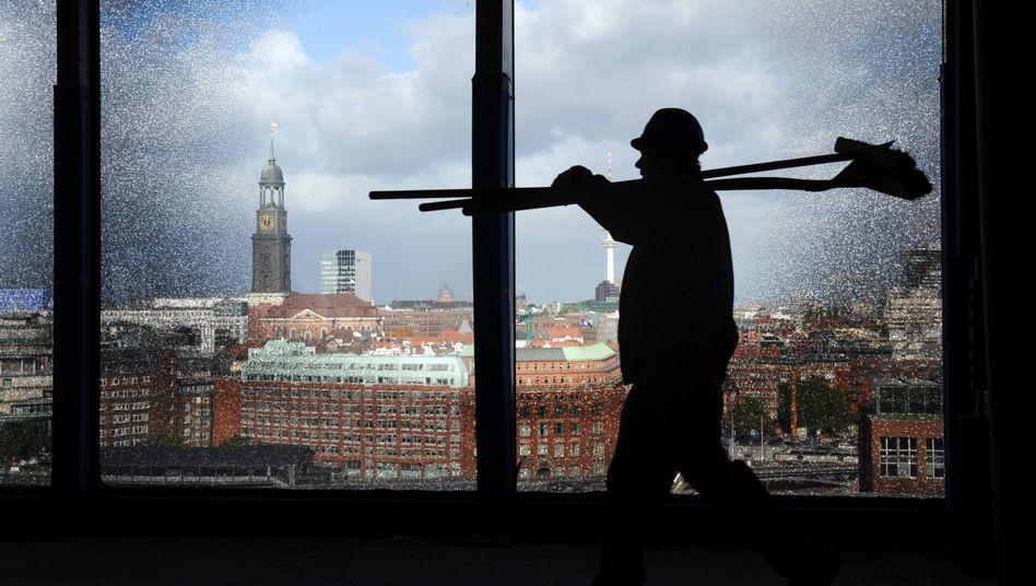 Bauarbeiter in Hamburg: SPD fordert einheitlichen, gesetzlichen Mindestlohn