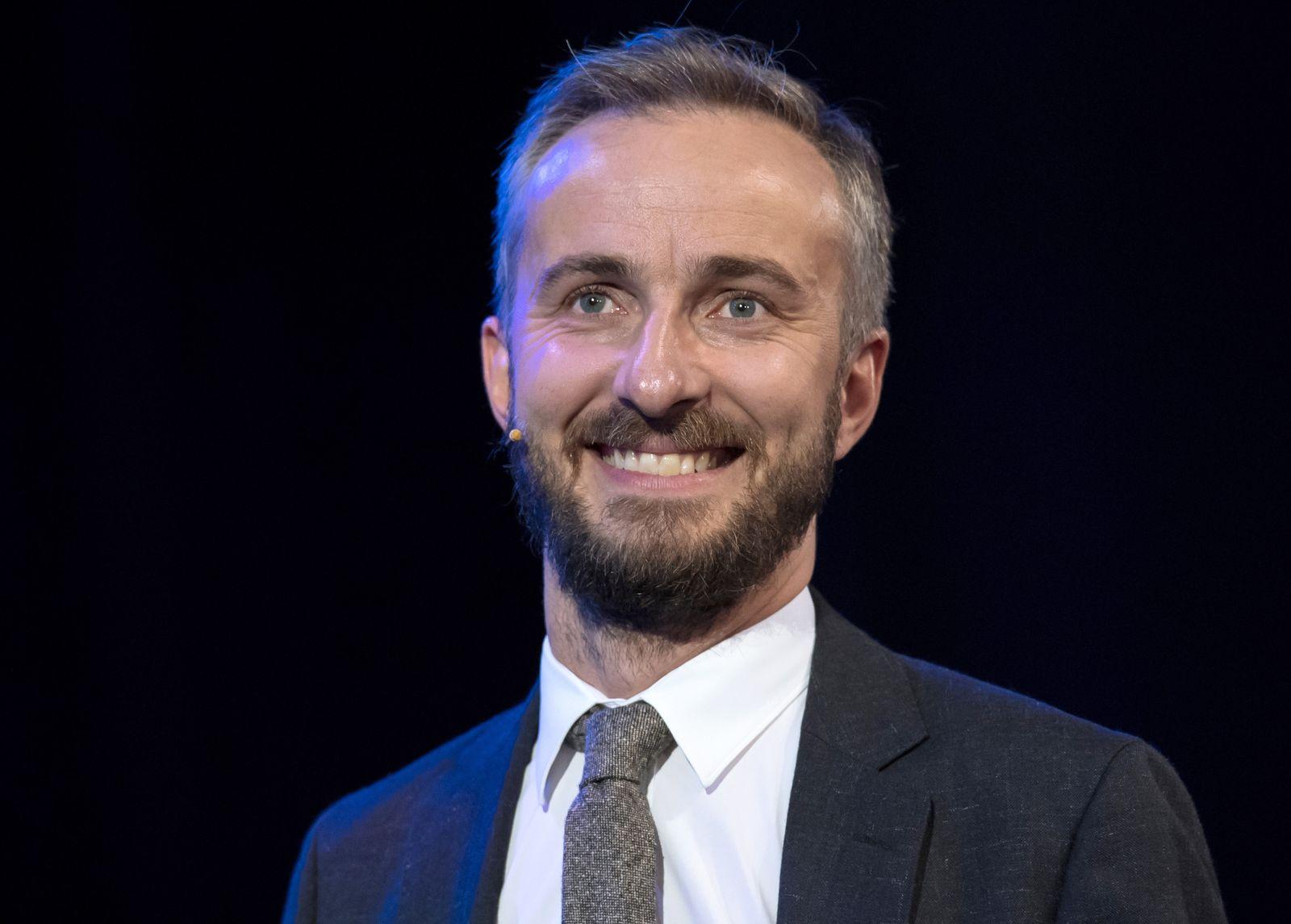 TV-Satiriker Böhmermann ist nun SPD-Genosse
