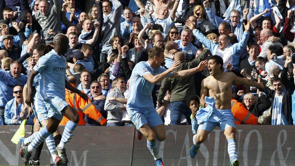 Premier League: Manchester ist blau