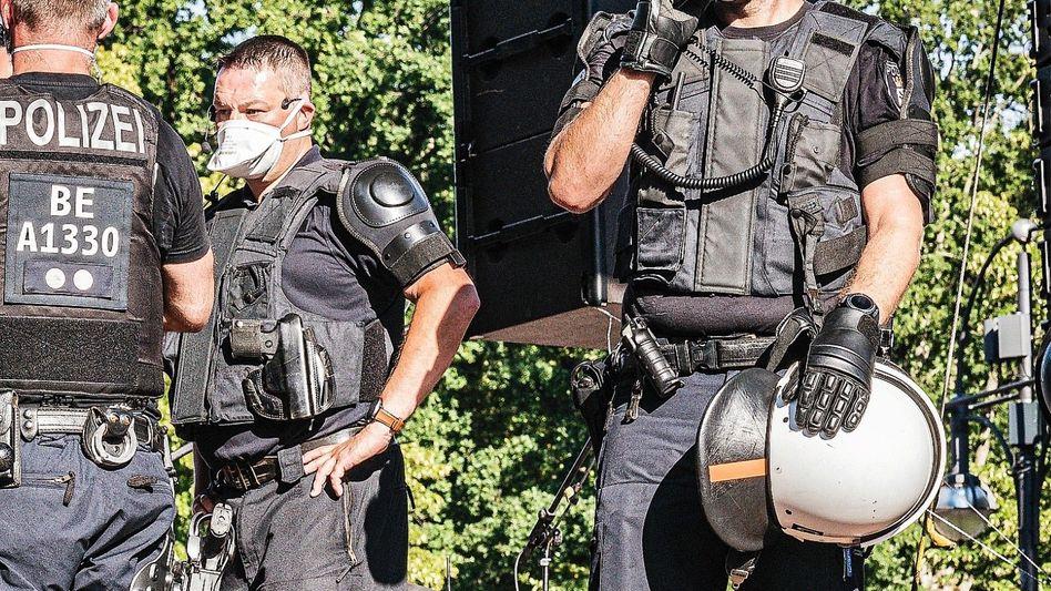 Demonstrant Schiffmann am 1. August in Berlin: »Einen Erdrutschsieg davontragen«