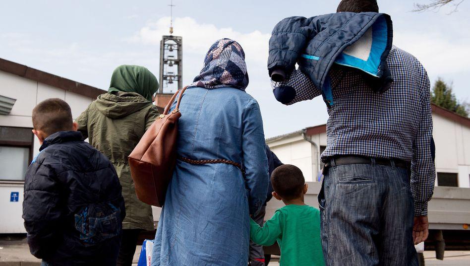Syrische Flüchtlinge in Niedersachsen (Symbolbild)