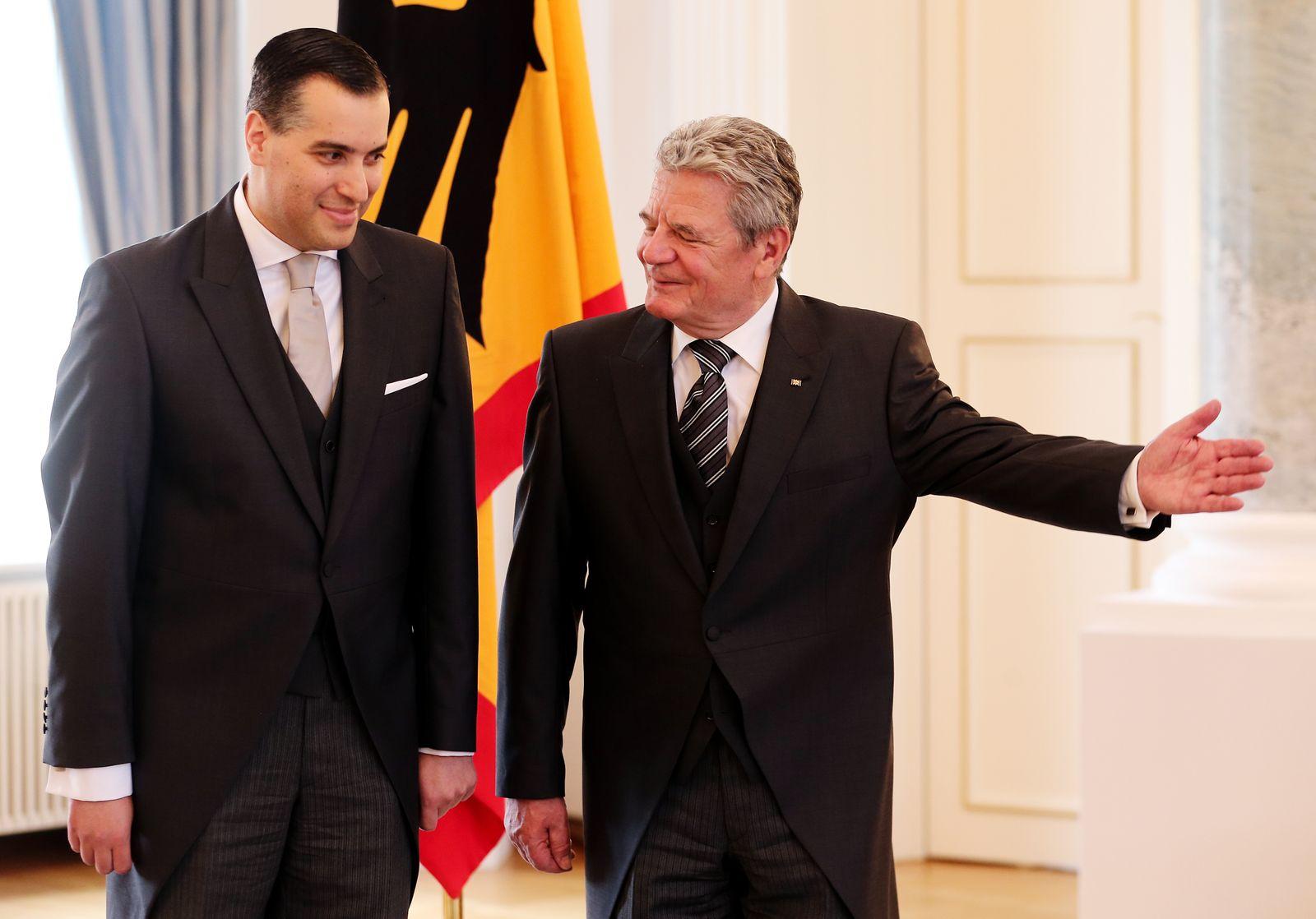 Gauck empfängt neuen Botschafter aus dem Libanon