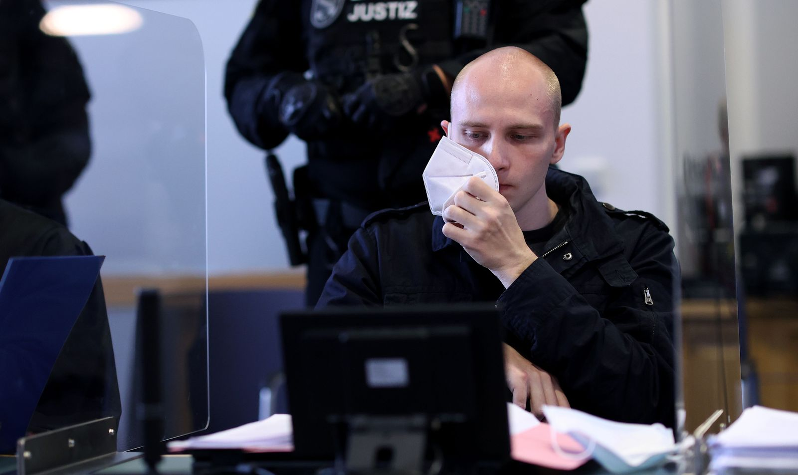 GERMANY-TRIAL-CRIME-FARRIGHT-JEWS