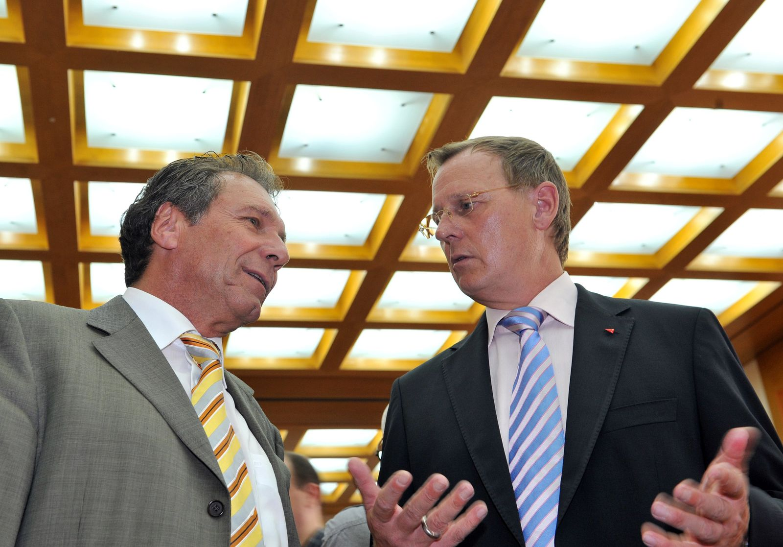 Klaus Ernst und Bodo Ramelow