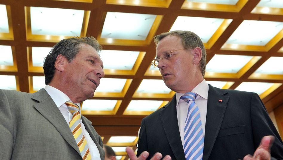 Linken-Politiker Ernst und Ramelow: Niederlage vor dem Bundesverwaltungsgericht