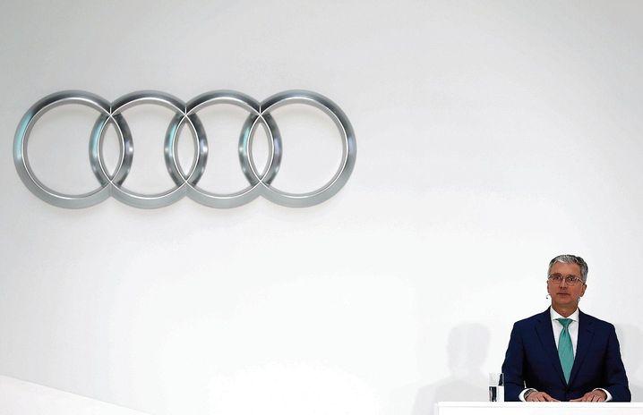 Audi-Chef Stadler im März: Wenig Anlass für Optimismus