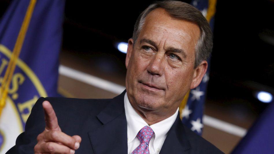 Republikaner Boehner: Nummer drei im Staat