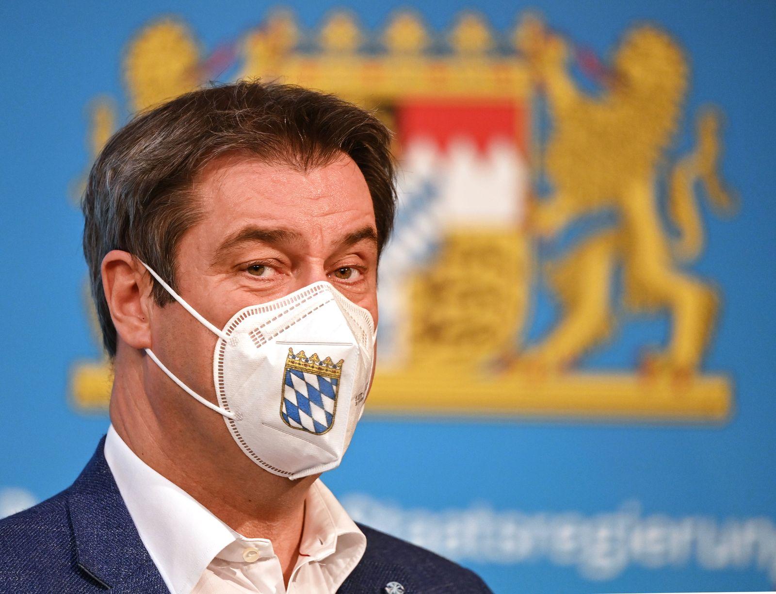 Coronavirus - Sitzung des bayerischen Kabinetts