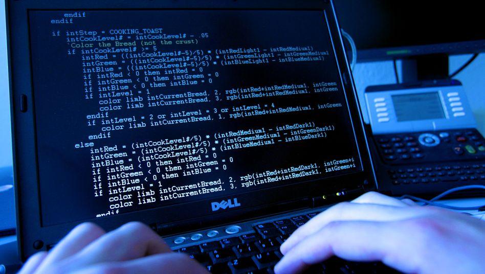 Hacker (Symbolbild): Mutmaßliche Spammer schlagen zurück