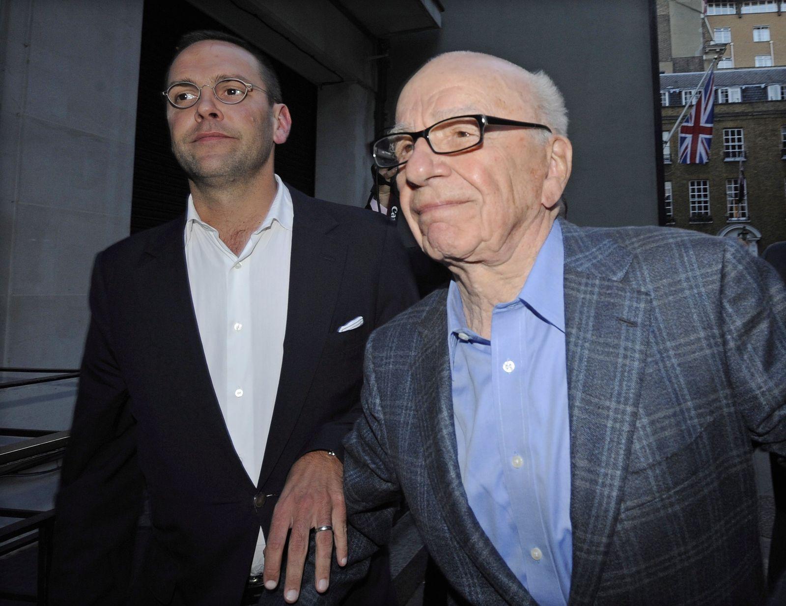 Rupert und James Murdoch
