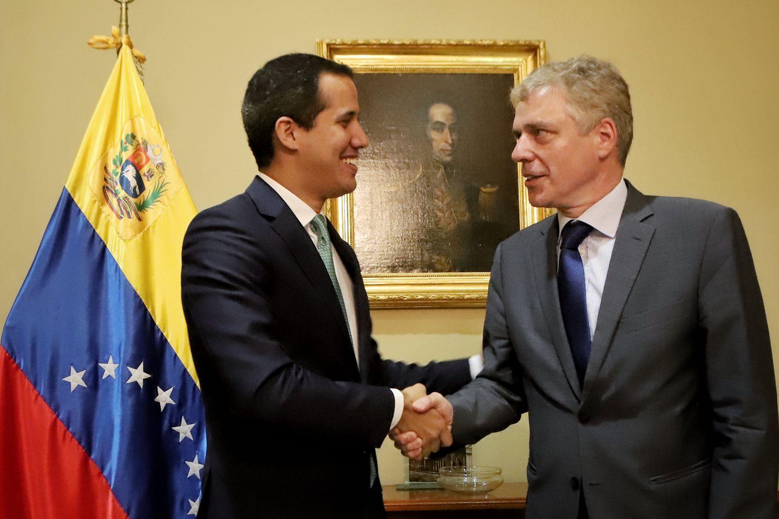 Juan Guaidó Daniel Kriener